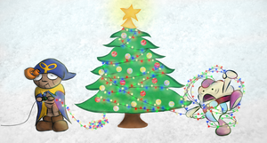 An SMRPG Christmas by MeganImel