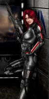 Shepard, Commander by punisher357