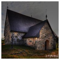 The church of St. Mikael by wchild