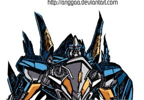 Thundercracker Colored by anggaa