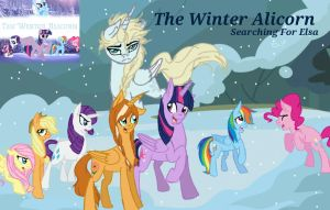 The Winter Alicorn, Searching for Elsa by FrozenFarron