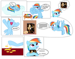 rainbow dash wants armored core 5 by AC-whiteraven