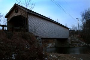 Covered Bridge by 611productions