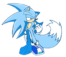 Sonic Riders Sin ver1 Coloured by SinRainyday666