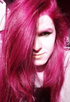 Pink Hair by Yaourt-A-La-Fraise