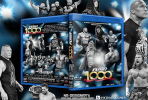 WWE RAW 1000th Episode Blu-ray by NS-Designer