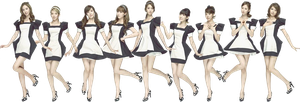 SNSD png by HanaBell1