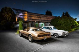 Trans Am and Coronet by AmericanMuscle