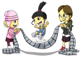 Despicable Me: Jump Rope by forte-girl7