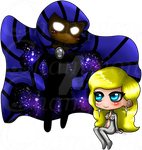 Cloak and Dagger Chibi by Championx91