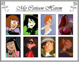 Meme - My Cartoon Harem (2011) by DLToon