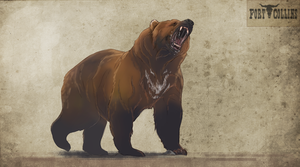 Fort Collins: Mauler the grizzly by Roiuky