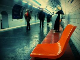 Subway station Paris by FastDevil76