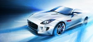 Jaguar CX-16 by lockanload