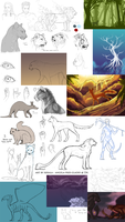 Huge Sketchdump 2011-2012 by RekalaRain