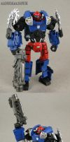Custom Transformers G2 deluxe Motormouth by Jin-Saotome
