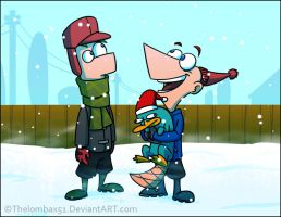 PnF - Snow Day by RatchetMario