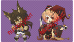 Adoptable: Halloween Set [CLOSED] by S-hiki
