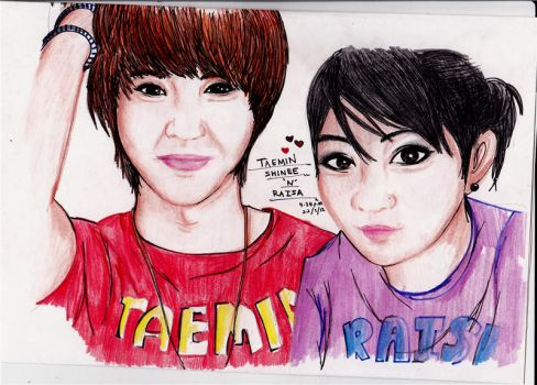 Me And Taemin by raisiwon