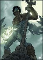 Legacy of Kain - Raziel by BrokenNoah