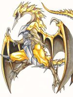 YGO: Felgrand Dragon by MasamuneRevolution