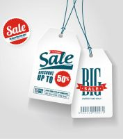 White Discount Tag Vector Graphics by Designslots