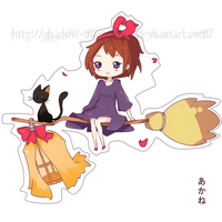 Kiki's Delivery Chibi Fanart by ShAdOw-MaStEr112