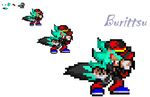 Burritsu Sprite by FrostBurned-Soul