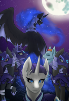 The Moon Rises by Ryhaal