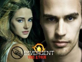 Divergent Tris and Four Wallpaper 2 by nickelbackloverxoxox