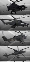 South African ATE Super Hind by Siregar3D