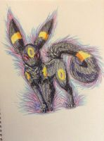 :Crayon Umbreon: by Vinabe