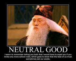 Neutral Good Dumbledore by 4thehorde