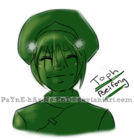 Toph Beifong -- Quick Sketch by PaYnE-hAs-No-EnD
