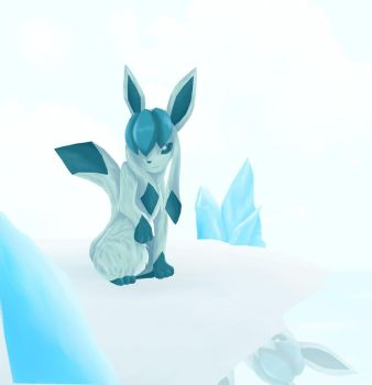Glaceon by Urasue14