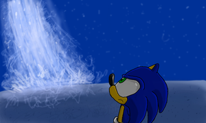 Sonic and the Blast of Light 3D by SpongicX