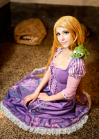 Disney Tangled - Rapunzel 5 by KiaraBerry