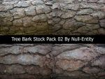 Tree Bark Stock Pack 02 by Null-Entity