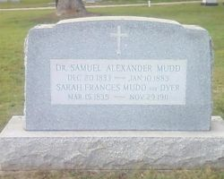 Dr. Samuel Mudd's Grave by Flaherty56