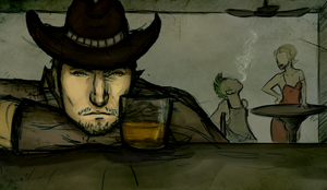 Wasteland Whisky by MatyChan
