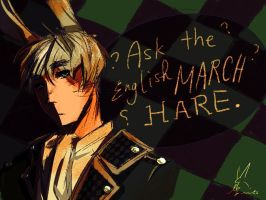 Ask the English March Hare by no-bunnies