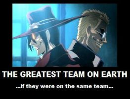Hellsing Poster- The Greatest Team by KamaSenya