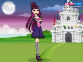 Five Nights At Ever After  Raven Queen by magictimeymare12
