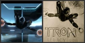 TRON: Legacy Comparison. by fearsmeltaway