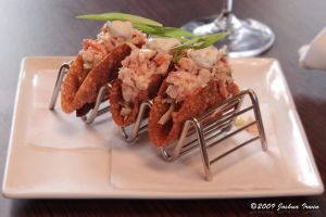 Lobster tacos by joshoshua