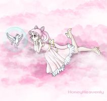 Chibiusa Dreaming by honeyheavenly