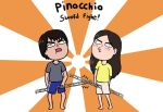 Pinocchio sword fight! by Beary-Boo
