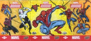 Spiderverse official 3 sketch card puzzle by mdavidct