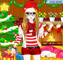 Have Christmas in The Flower Shop - Dress up Games by willbeyou