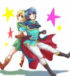 link and marth by ituki-t